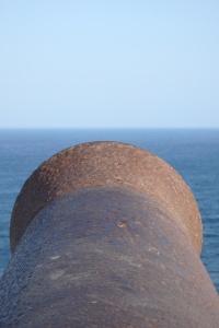 Cañon en el Cabo San Vicente