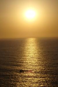 Atardecer desde el Cabo San Vicente