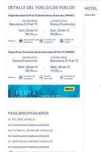 Nos vamos a Roma!!!