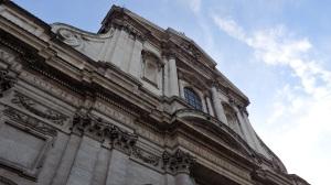 Fachada de Sant'Ignazio di Loyola