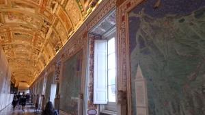 Sala de los mapas