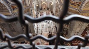 El interior de la basílica des de la Cúpula