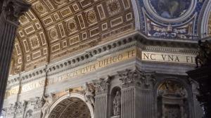 Detalle del interior de la Basílica