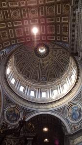 La enorme cúpula de Miguel Angel