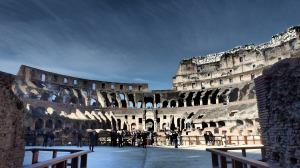 El Coliseo desde la Arena...