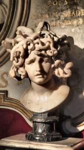 La Medusa, de Bernini