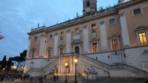 Ayuntamiento de Roma en el Campidoglio