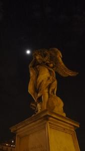 Una de las estatuas de Bernini y sus discipulos