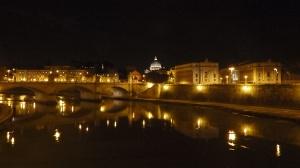 San Pedro desde el puente de Sant'Angelo