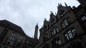 El ayuntamiento desde uno de sus patios interiores