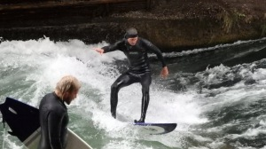 Surfeando en Múnich