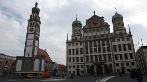 Fachada del ayuntamiento de Augsburgo