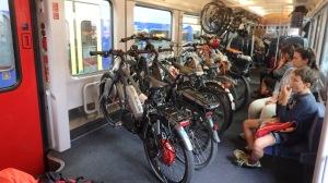 Vagón para bicis