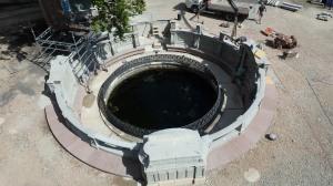 Las fuentes del Danubio....en obras
