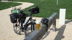 Bicicleta y cerveza fría...genial combinación