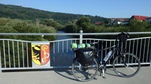 Cruzando el Danubio antes de Zell
