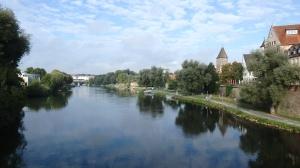Vistas del Danubio a su paso por Ulm