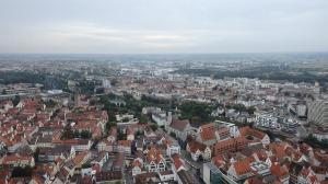 Vistas del Danubio desde lo alto de la torre de la Catedral