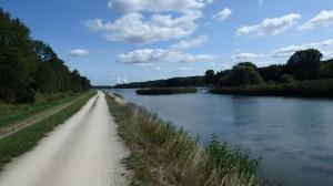 Aquí el río ya es gradne, grande