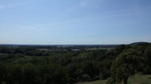 Panorámica del Danubio des de  Leitheim