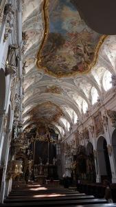 Interior de la capilla privada de la familia Turn and Taxis