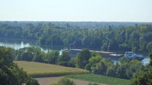 El valle de Danubio des de lo alto