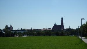 Llegando a Straubing