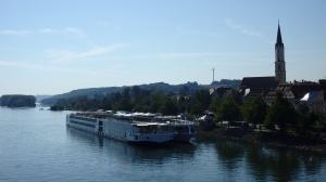 Llegando a Vilshofen