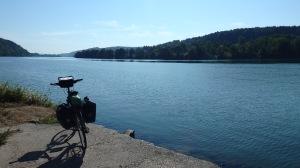 Aquí el Danubio ya es realmente impresionante